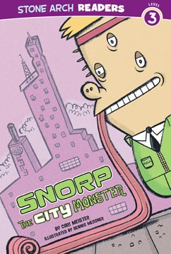 Snorp the City Monster
