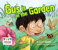 Gus is in the Garden