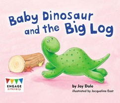 Baby Dinosaur and the Big Log