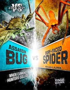 Assassin Bug vs. Ogre-Faced Spider: When Cunning Hunters Collide