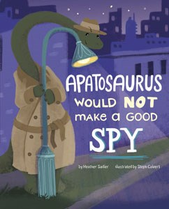 Apatosaurus Would NOT Make a Good Spy