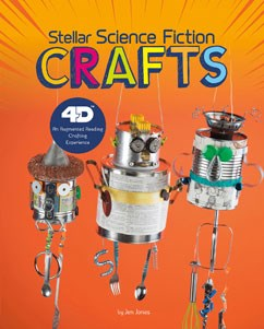 Stellar Science Fiction Crafts: 4D An Augmented Reading Crafts Experience