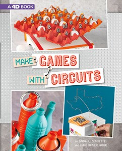 Make Games with Circuits: 4D An Augmented Reading Experience