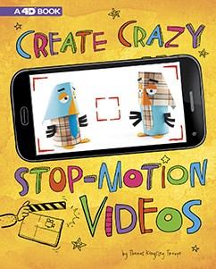 Create Crazy Stop-Motion Videos: 4D An Augmented Reading Experience