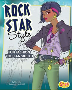 Rock Star Style: Fun Fashions You Can Sketch