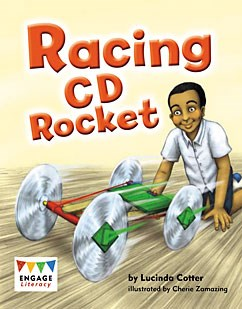 Racing CD Rocket