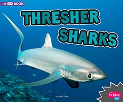 Thresher Sharks: A 4D Book