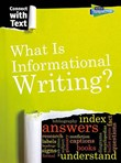 What is Informational Writing?