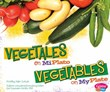 Vegetales en MiPlato/Vegetables on MyPlate