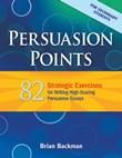 Claims and Premise: Persuasion Points A La Carte