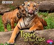 Tigers and Their Cubs: A 4D Book