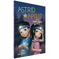Image of the book 'Astrid and Apollo and the Starry Campout' by V.T. Bidania.
