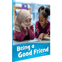 Image of the book 'Being a Good Friend' by Mari Schuh.