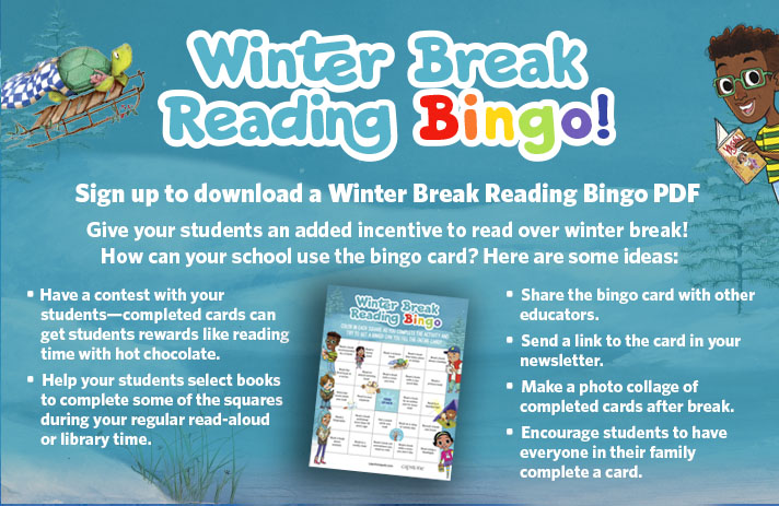 Winter Break Bingo landing page image