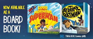 Superhero board books
