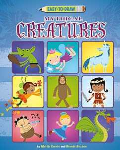 Easy-to-Draw Mythical Creatures