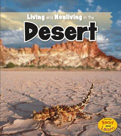 Image result for living and nonliving in the desert