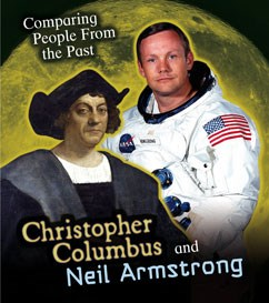 Image result for neil armstrong and christopher columbus
