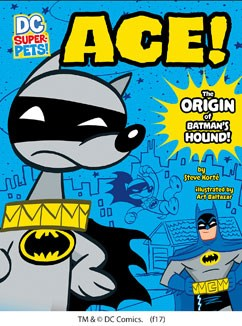 Ace the origin of batmans dog capstone young readers ace58 the origin of voltagebd Image collections