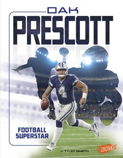 half off 713b5 8d758 Dak Prescott: Football Superstar | Capstone Library