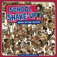 School Shake Up Hidden Picture Puzzles Capstone Library