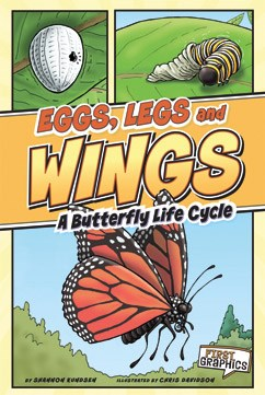 Eggs, Legs, Wings: A Butterfly Life Cycle