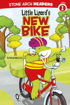 Little Lizard's New Bike