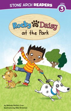 Rocky and Daisy at the Park