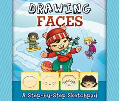 Drawing Faces: A Step-by-Step Sketchpad