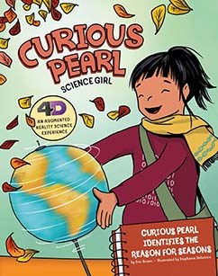 Curious Pearl Identifies the Reason for Seasons: 4D An Augmented Reality Science Experience