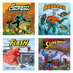DC Super Heroes Character Education