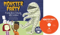 Monster Party: A Song about Drawing with Numbers