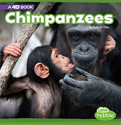 Chimpanzees: A 4D Book