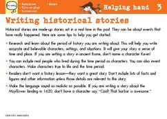 Writing historical stories