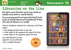 Libraries on the line