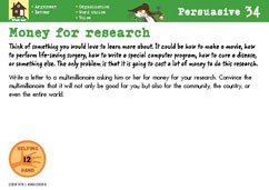 Money for research