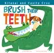 Kitanai and Cavity Croc Brush Their Teeth