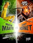 Praying Mantis vs. Giant Hornet: Battle of the Powerful Predators