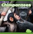 Chimpanzees: A 4D Book