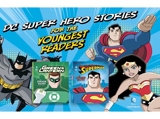 DC Super Hero Origins