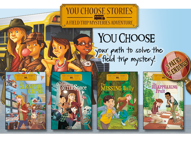 You Choose Stories&#58&#59; Field Trip Mysteries