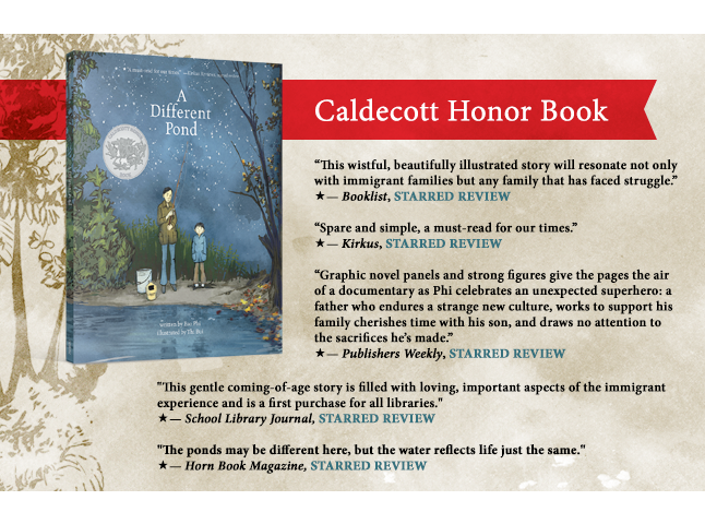 A Different Pond is a Caldecott Honor Book&#33&#59;