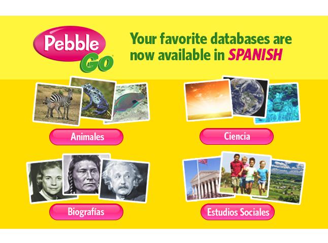 PebbleGo Spanish