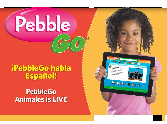 PebbleGo Animales LIVE