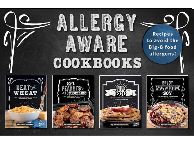Allergy Aware Cookbooks