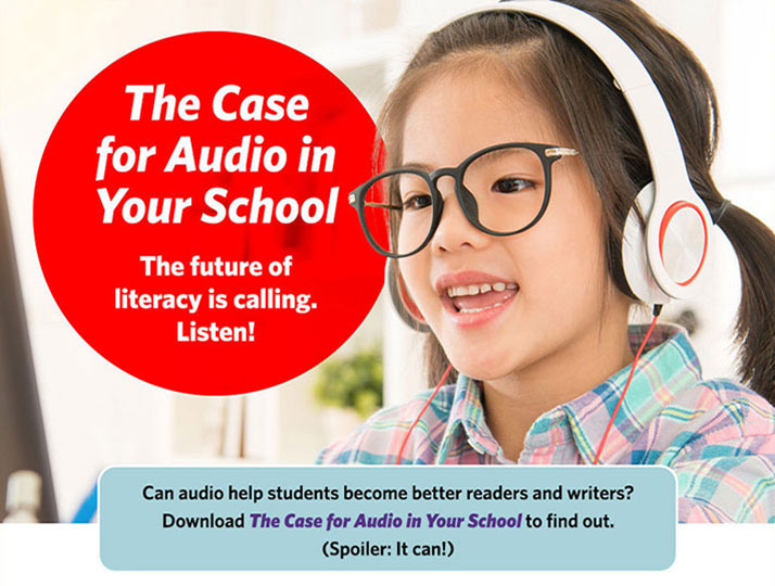 The Case for Audio in Your School landing page image