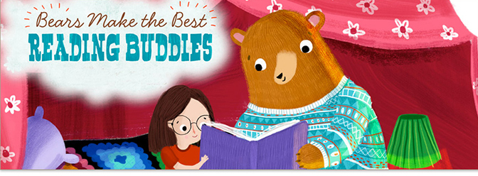 Bears Make the Best Reading Buddies hero image