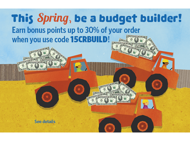 Capstone Rewards Budget Builder Promo