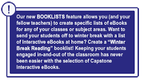 With Over 5000 Interactive EBooks More Than Any Other Publisher Capstone Is Proud To Provide Content That Spans The Curriculum And Give Your Students