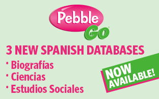 PebbleGo Spanish Coming Soon banner image